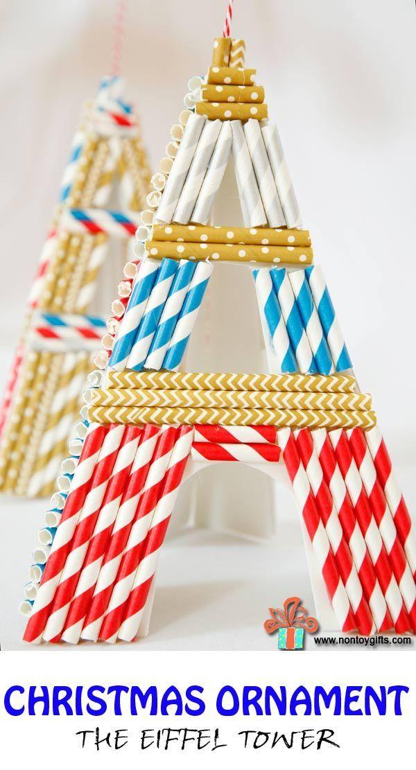 Christmas Ornaments The Eiffel Tower Eiffel Tower Craft Kids