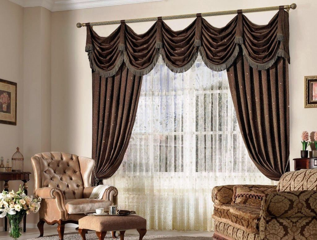 Elegant curtains for the living room intrinsiclifedesign