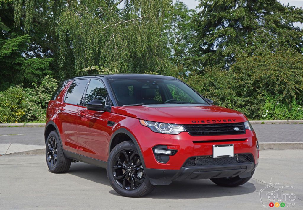 2016 Land Rover Discovery Sport HSE Road Test Car