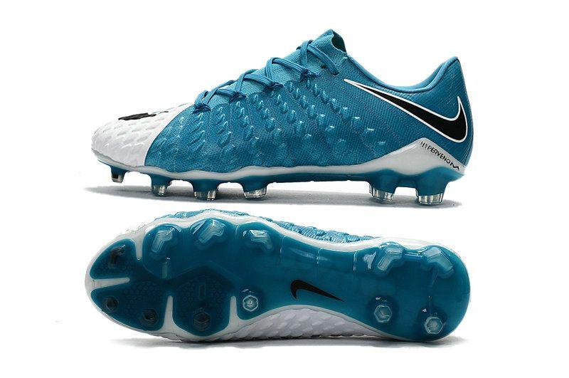 cheap for discount a3adf be7f5 Nike Hypervenom Phantom 3 FG Low Cut Soccer Cleat Blue White ...