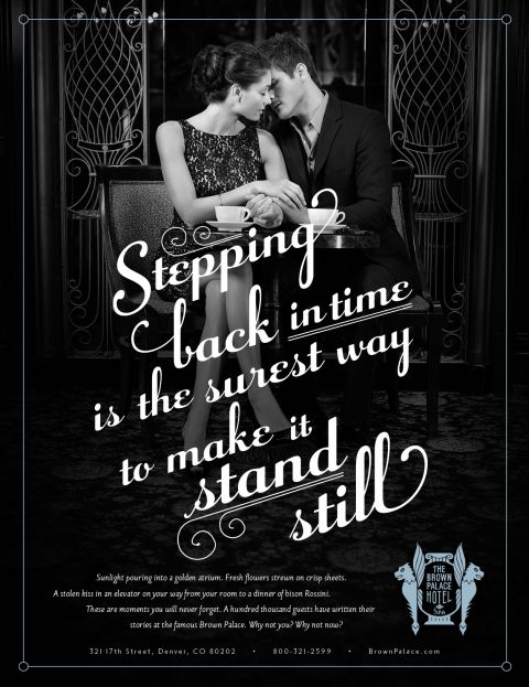 Luxury Hotel Ad Campaign Back In Time It Makes Me Happy Hotel