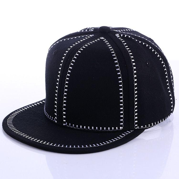 9014ed1935f China Cap OEM Factory 100% Arcylic 6 Panel Black Color Custom Adult Unisex  3D Embroidery Cheap Snapback Hats