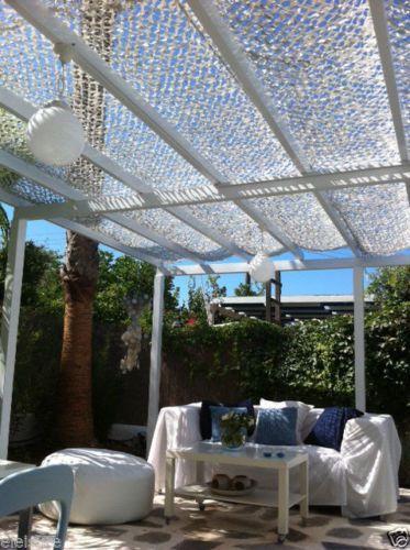 Conservatory Orangery Roof Shade Sail Nets Blinds Garden Pergola Shading Fire Pr Canopy Outdoor Pergola Pergola Shade