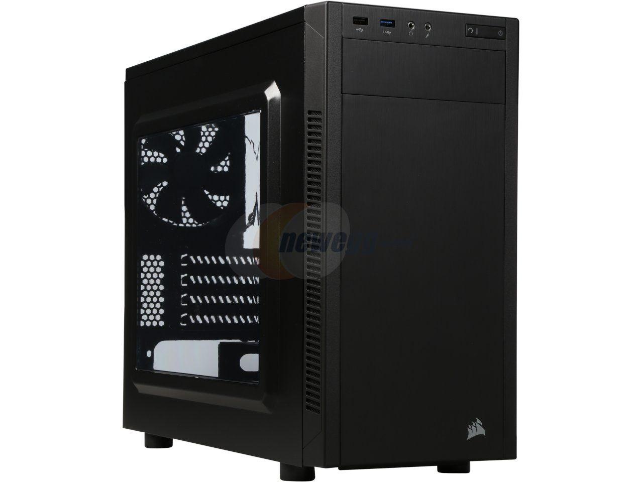 Carbide Series® 88R MicroATX Mid-Tower Case - Newegg.com ($50)