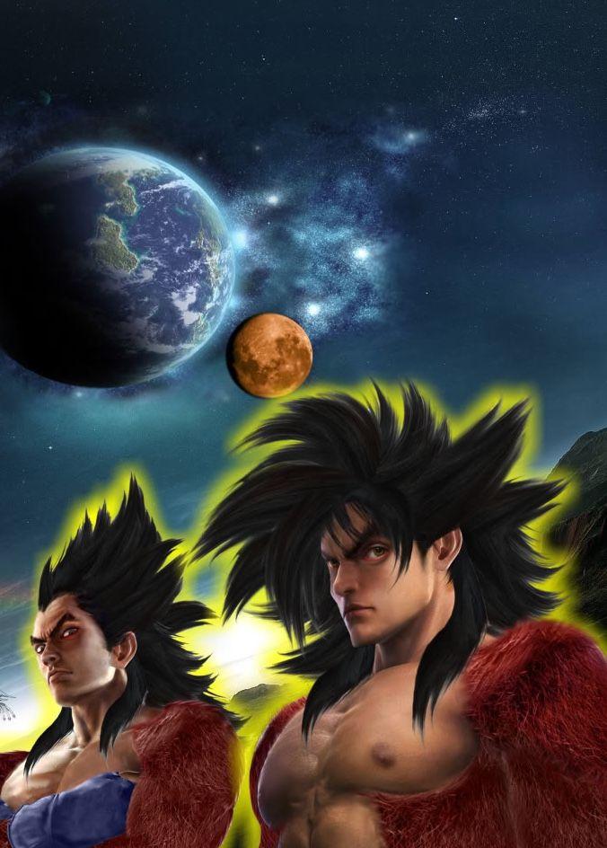 Ssj4 Goku Vegeta Dbz Desktop Wallpapers Download Dbz Hd Wallpapers And Desktop Backgrounds