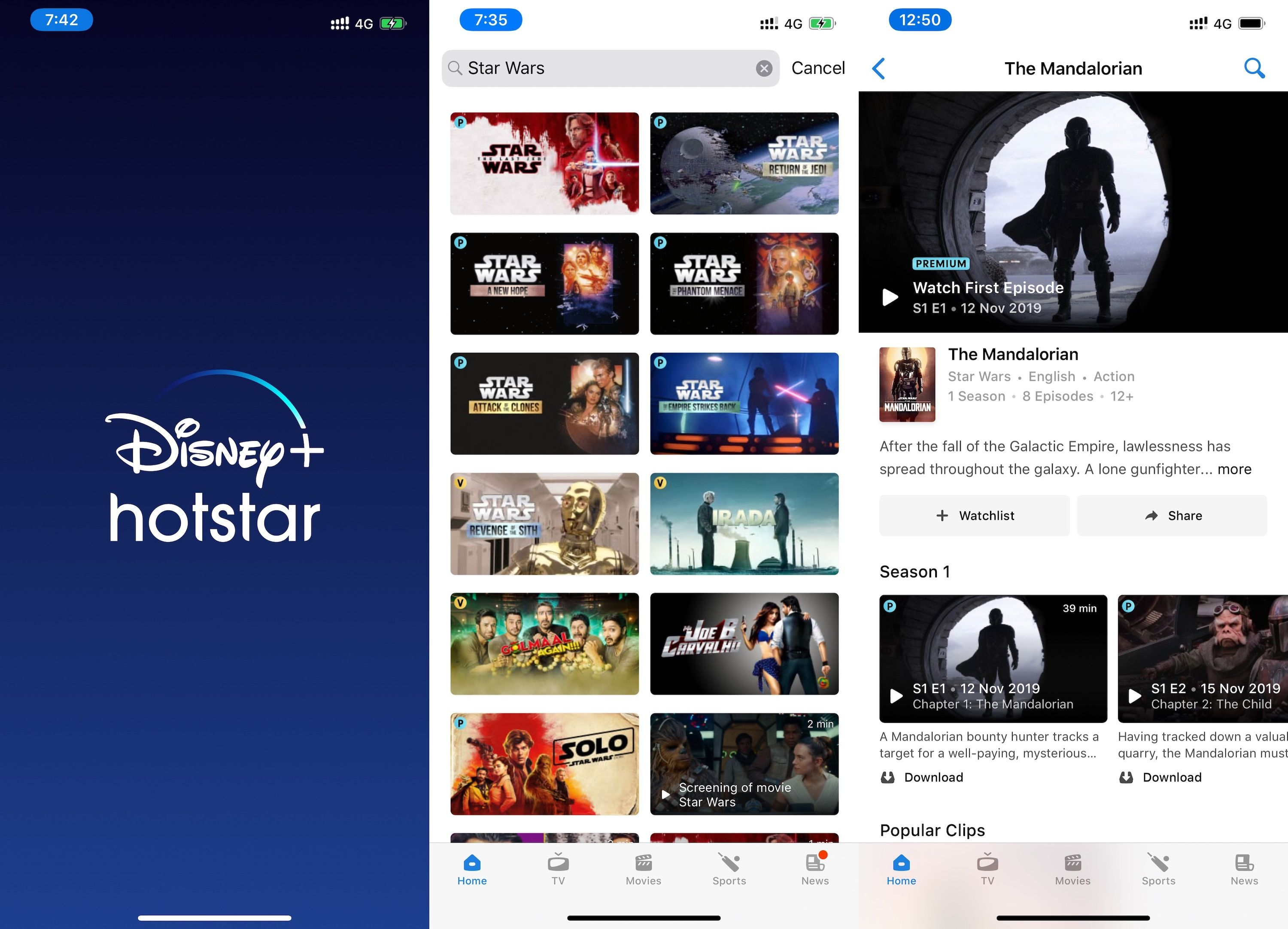 Now streaming on Hotstar in India: Disney   Disney now, Amazon prime video,  Video streaming