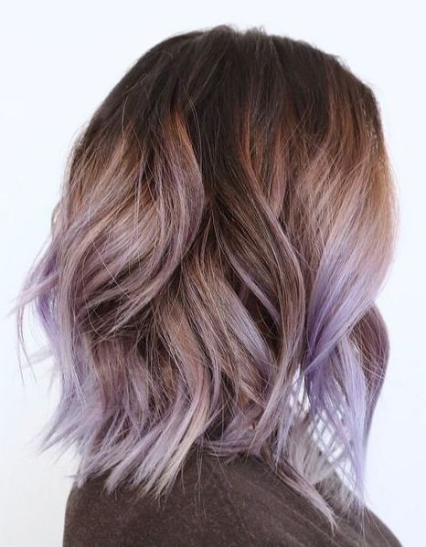 Pin By Madelyn On Hair In 2020 Hair Styles Lavender Hair Ombre Lilac Hair