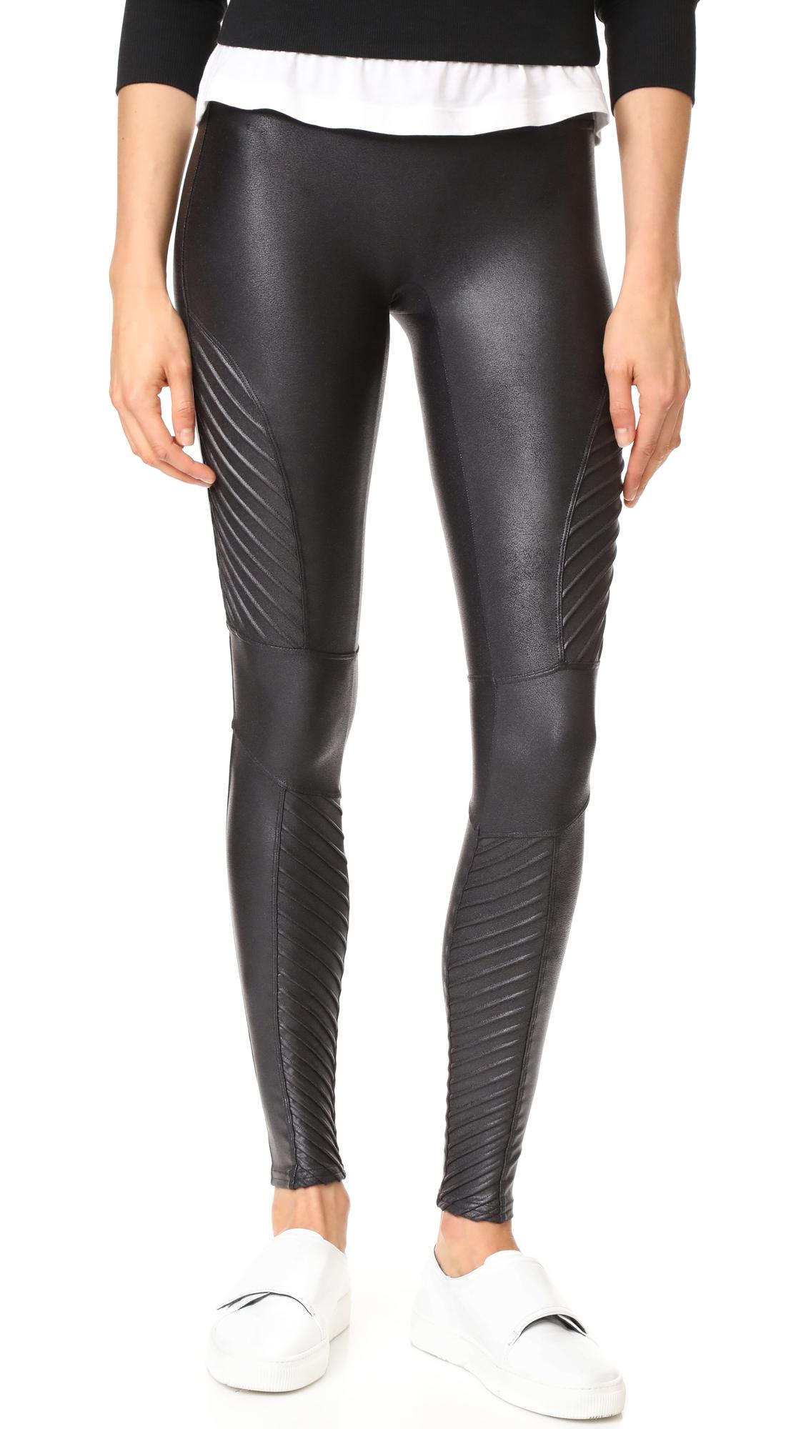 0cebce60c6000 SPANX Faux Leather Moto Leggings | Products | Faux leather leggings ...