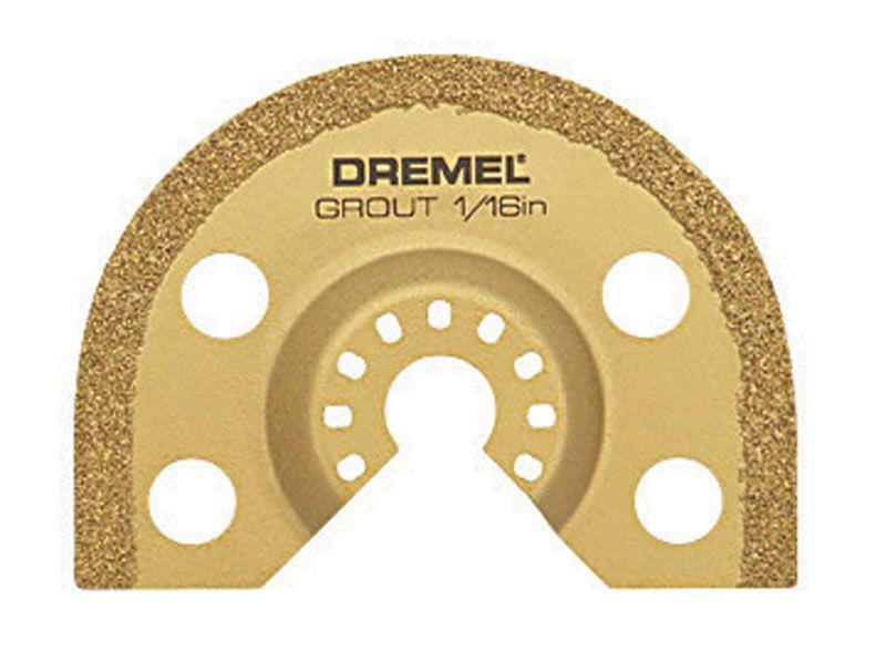 Dremel multimax 116 in steel grout removal blade 1 pk