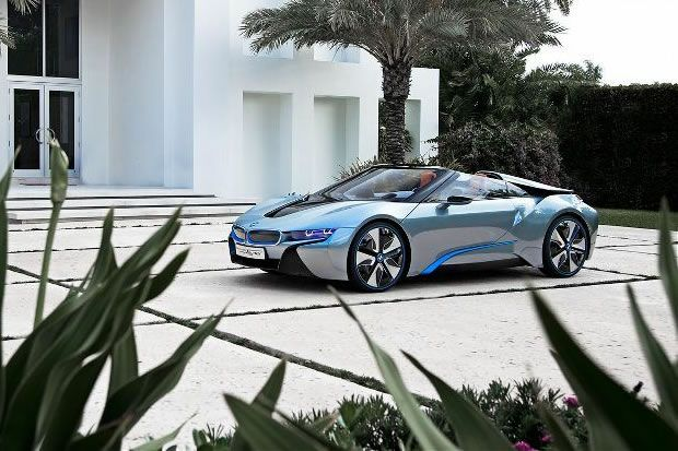 bmw i8 spyder electric vehicles bmw bmw i8 et electrique. Black Bedroom Furniture Sets. Home Design Ideas