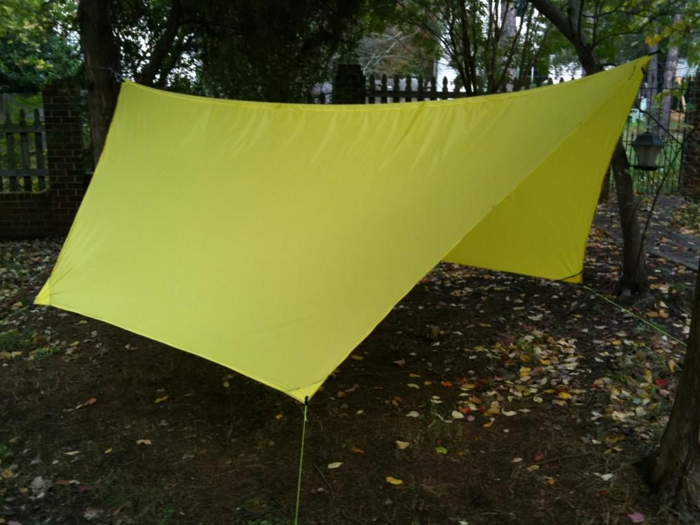 How to make a DIY C&ing Hammock Tarp MYOG & How to make a DIY Camping Hammock Tarp: MYOG | Prepping SURVIVAL ...