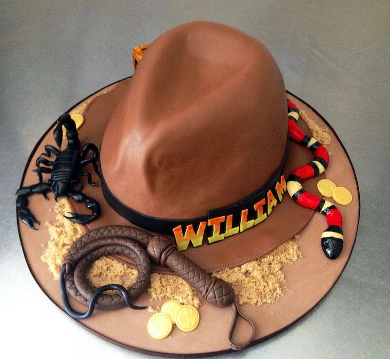 Wondrous By Erin Salerno Indiana Jones Cake Cowboy Cakes Western Funny Birthday Cards Online Inifodamsfinfo