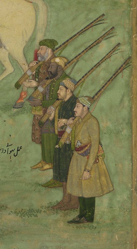Bhavanidas: The Emperor Aurangzeb Carried on a Palanquin [India] (2003.430) | Heilbrunn Timeline of Art History | The Metropolitan Museum of Art