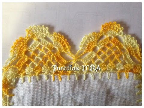 Thread Crochet Valance