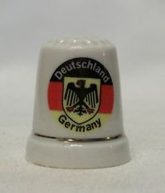 Deutschland-Germany-Porcelain-Thimble China