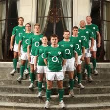 Ireland Rugby Team Irlande