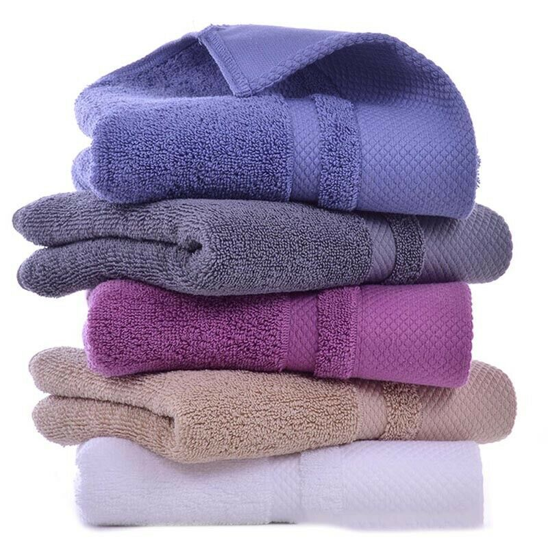 Details About 1xluxury Soft Cotton Bath Towels Spa Home Bathroom