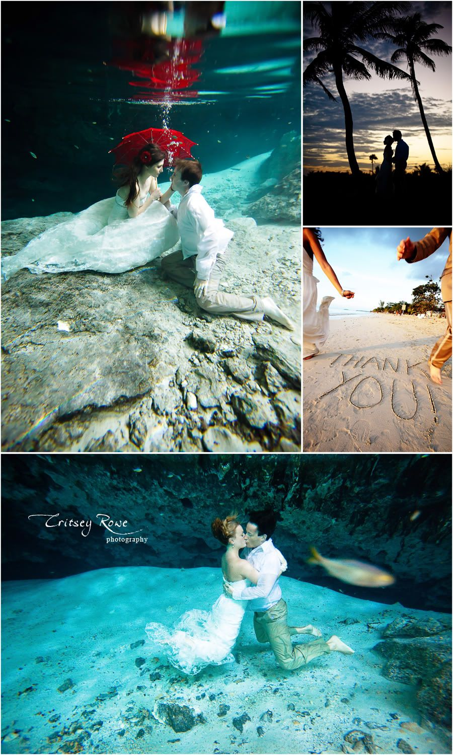 Underwater Themed Wedding Google Search Engagement Photo