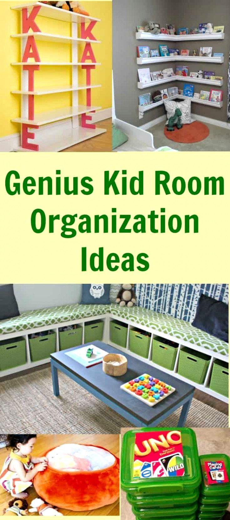 Genius Kid Room Organization Ideas images
