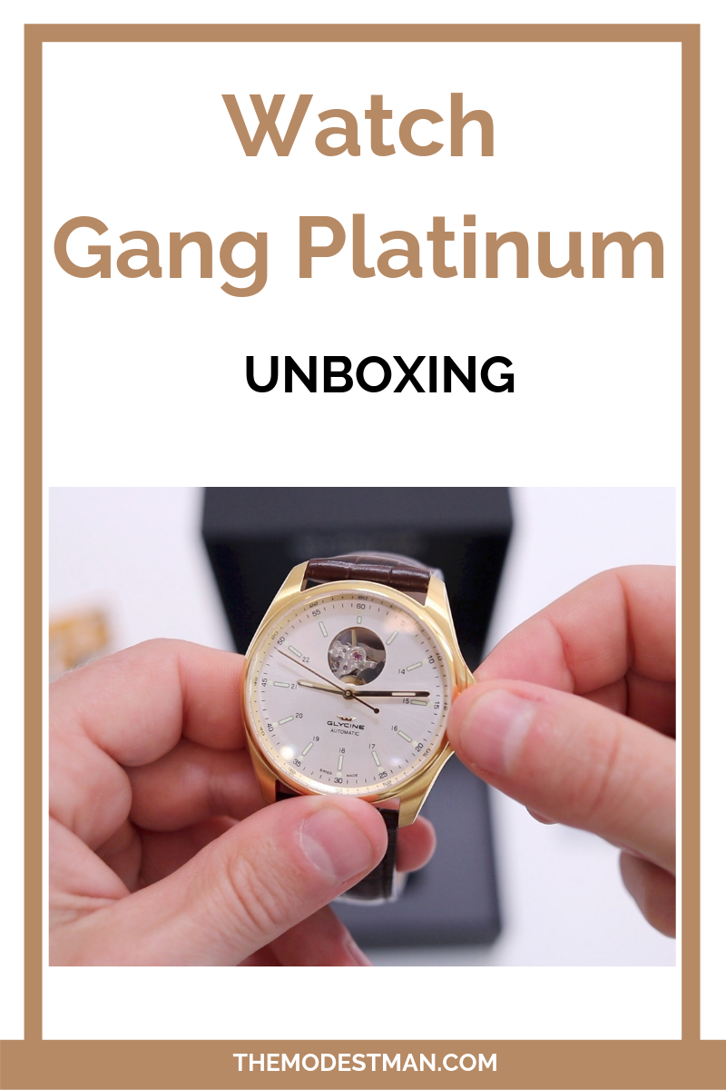 Watch Gang Review (Platinum Tier)   Watches for men, Popular watches, Men style tips