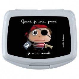 Bo/îte /à go/ûter  Quand je serai grand je serai pirate