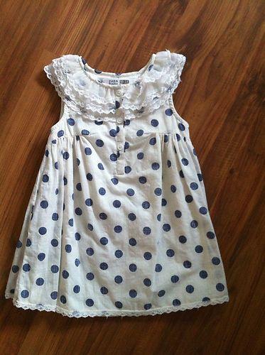 Infant Girls A-line  Dress 18-24m