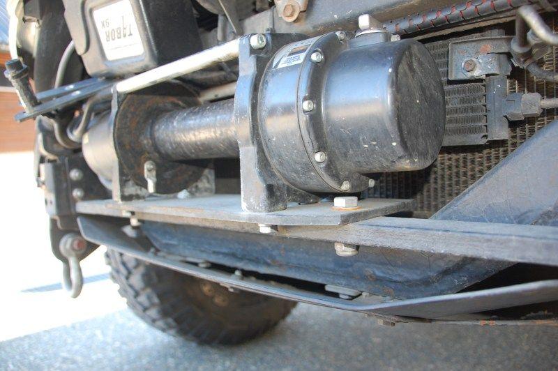 winch mounting in stock bumper ih8mud forum 4x4 ideas rh pinterest com