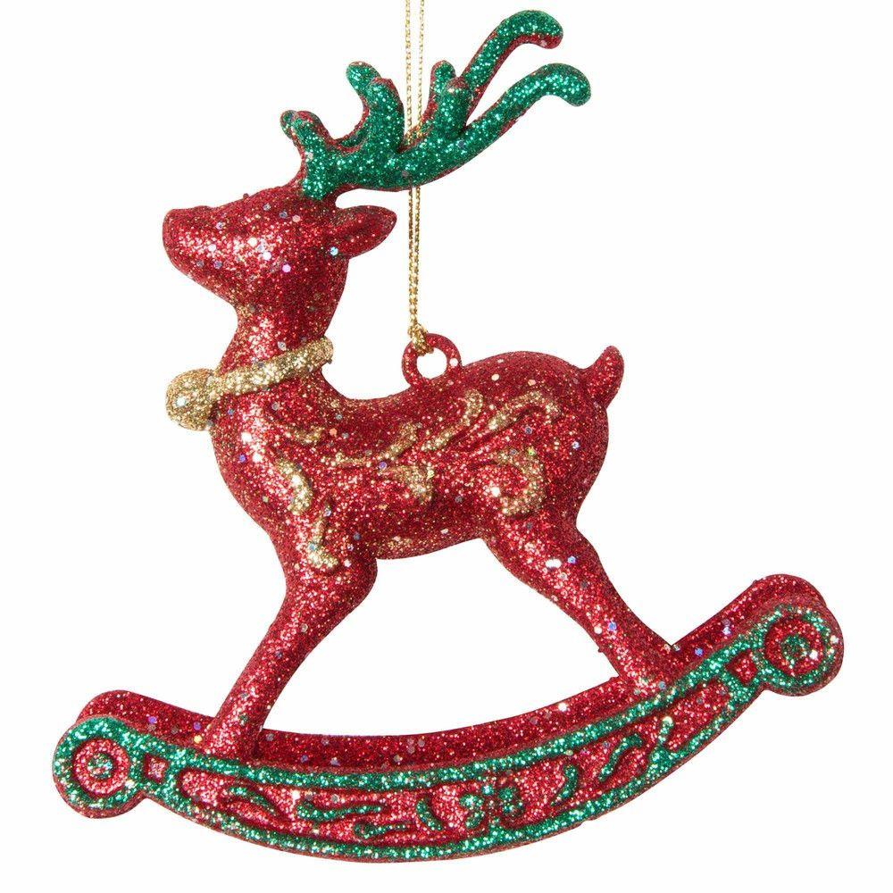 Weihnachtsdeko Schaukelpferd H 11 cm TRADITION Jetzt bestellen unter ...