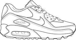 Basketball Shoe Drawing   Google Search