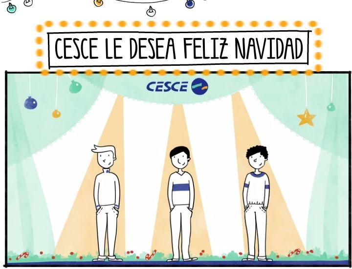 La Navidad ha llegado a CESCE y queremos compartirla contigo. Pincha en el enlace y elige cómo quieres que te la felicitemos --> http://ow.ly/rJjTm Tú eres el protagonista, tú escoges el christmas ;)