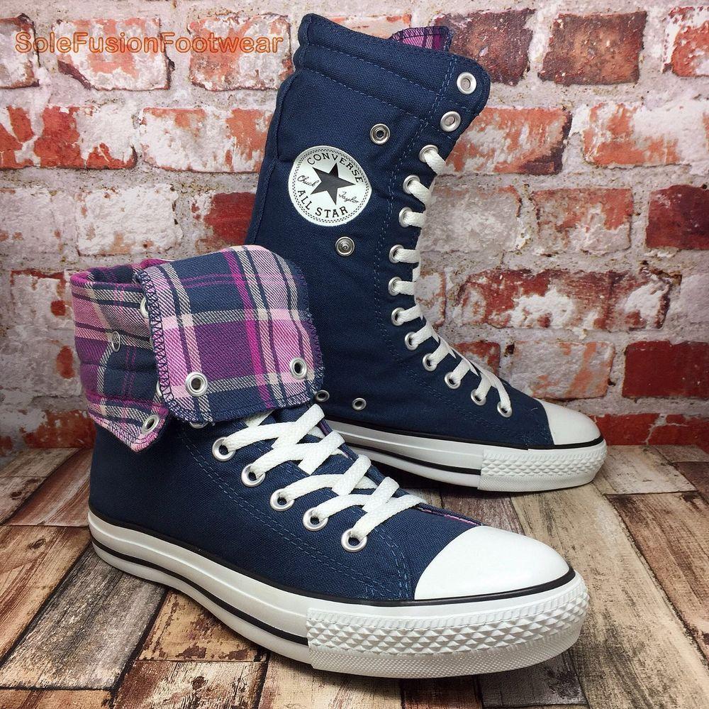 Neu CONVERSE Chuck Taylor All Star High Sneakers blau 6987277 | eBay