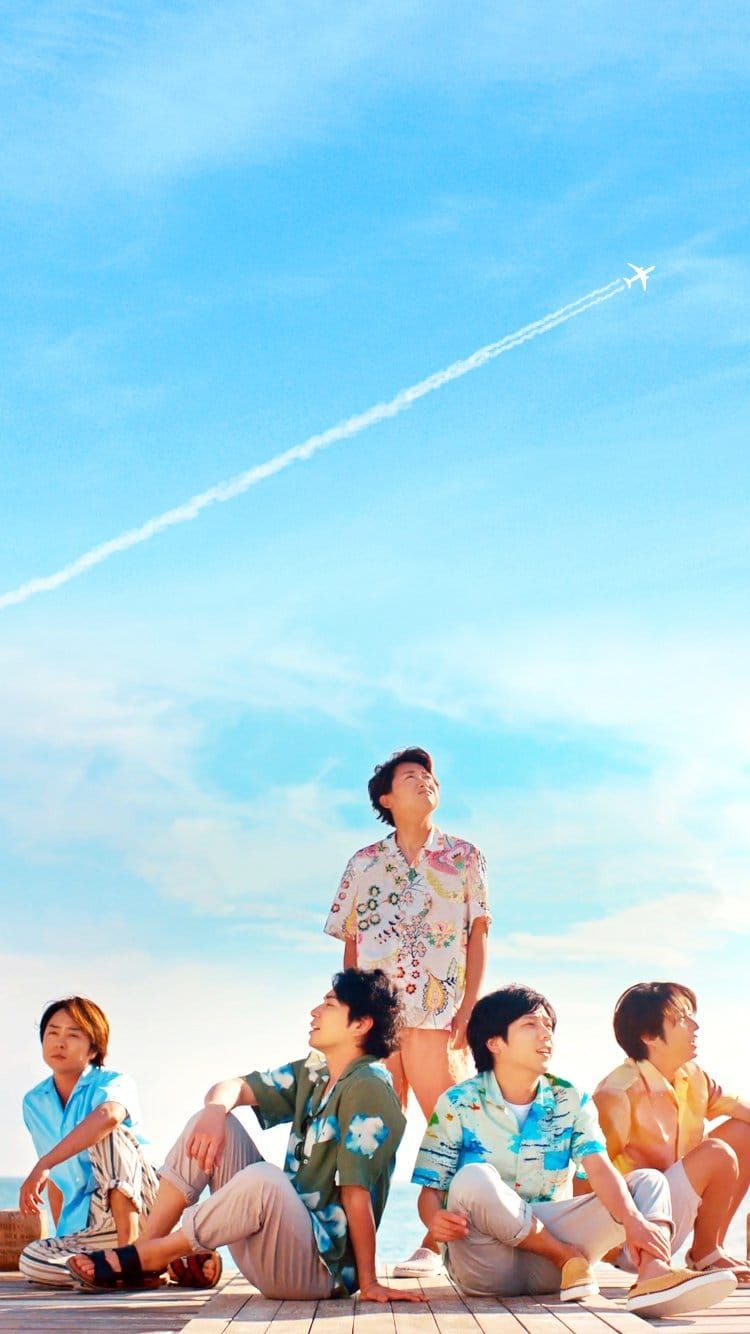 Arashi In Okinawa New Jal Cm 嵐 ハワイ 嵐 Love 嵐