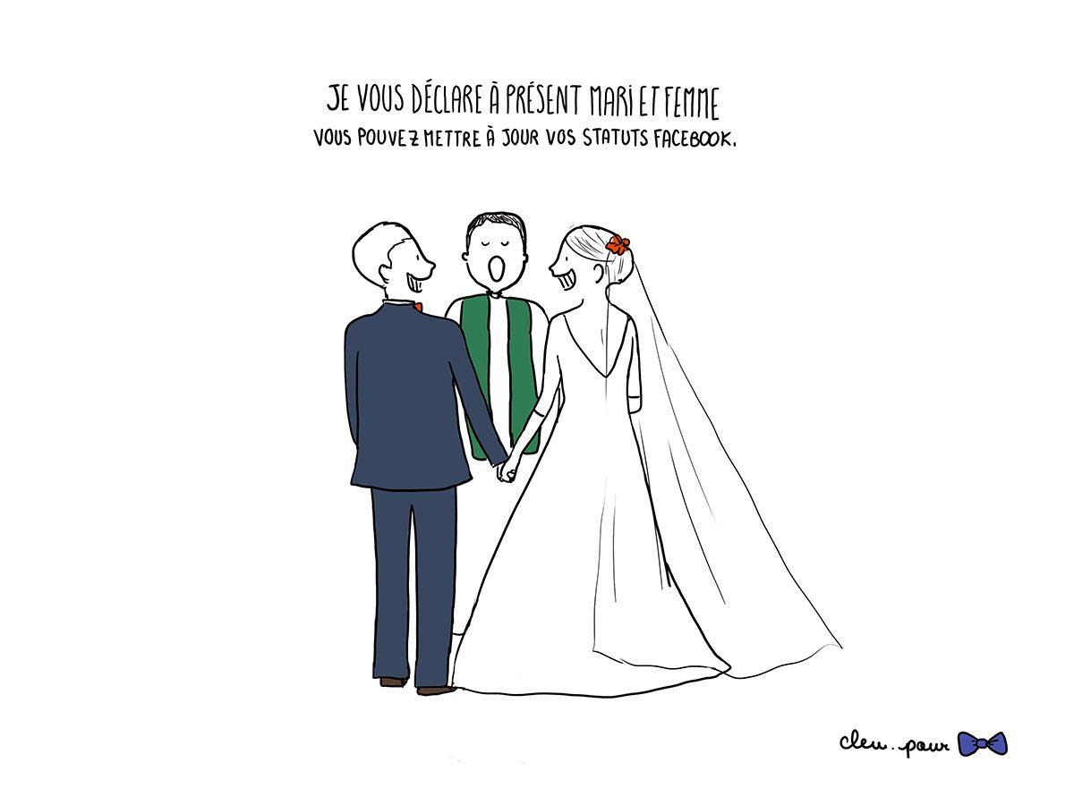 Les Liens Du Mariage Statut Facebook Et Humour