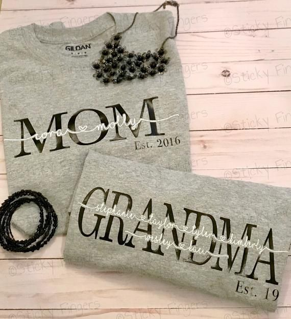 Cricut Mom Shirt Established Ideas