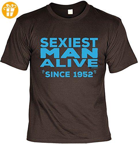 Cooles T Shirt Zum Geburtstag Sexiest Man Alive Since 1957 Geschenk  Geburtstag 60 Jahre Geburtstagsgeschenk Lustiges Tshirt Zum Geburtstag  (*Partner Link)