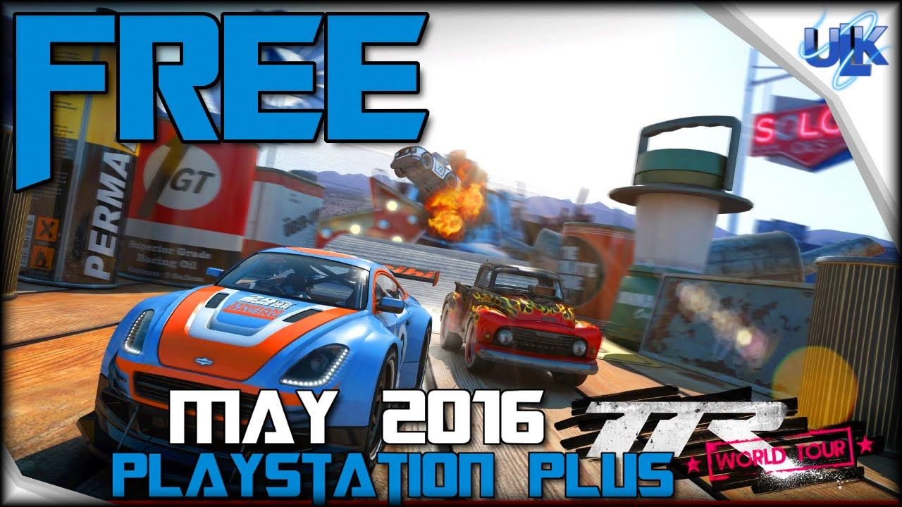 Table Top Racing World Tour Free May Playstation Plus Game Ps4