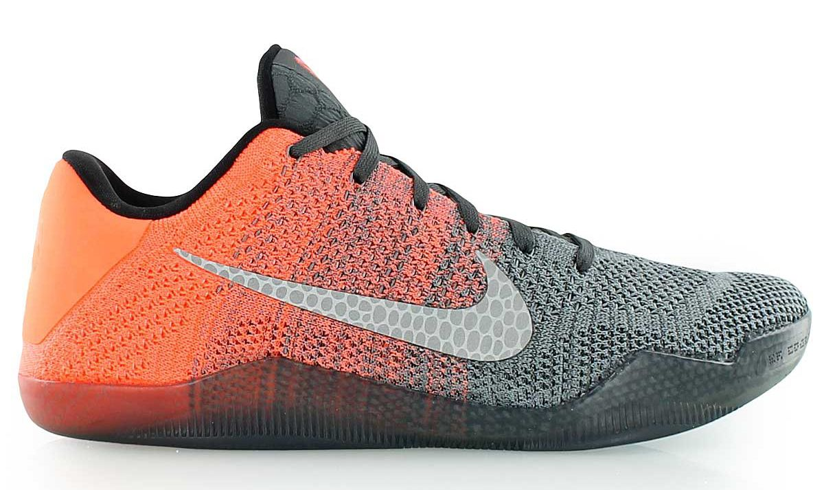 nike kobe 11 flyknit gold orange