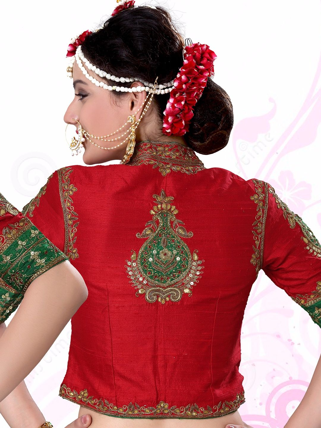 7c8a68a4f49877 Shop Red raw silk nice designer ready made blouse online from G3fashion  India. Brand - G3, Product code - G3-RB0397, Price - 8195, Color - Red, ...