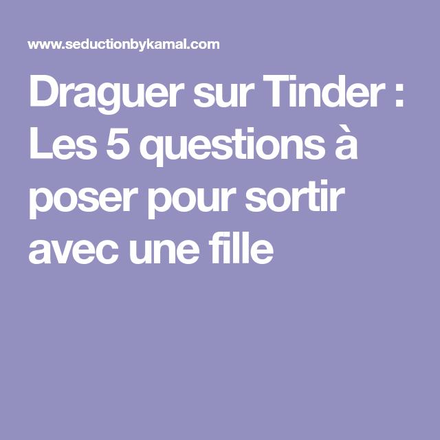 question a poser pour flirter