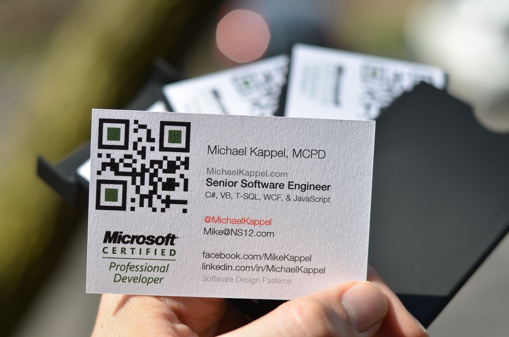 Engineer Business Cards Photo By Michael Kappel | Moo Cards ...