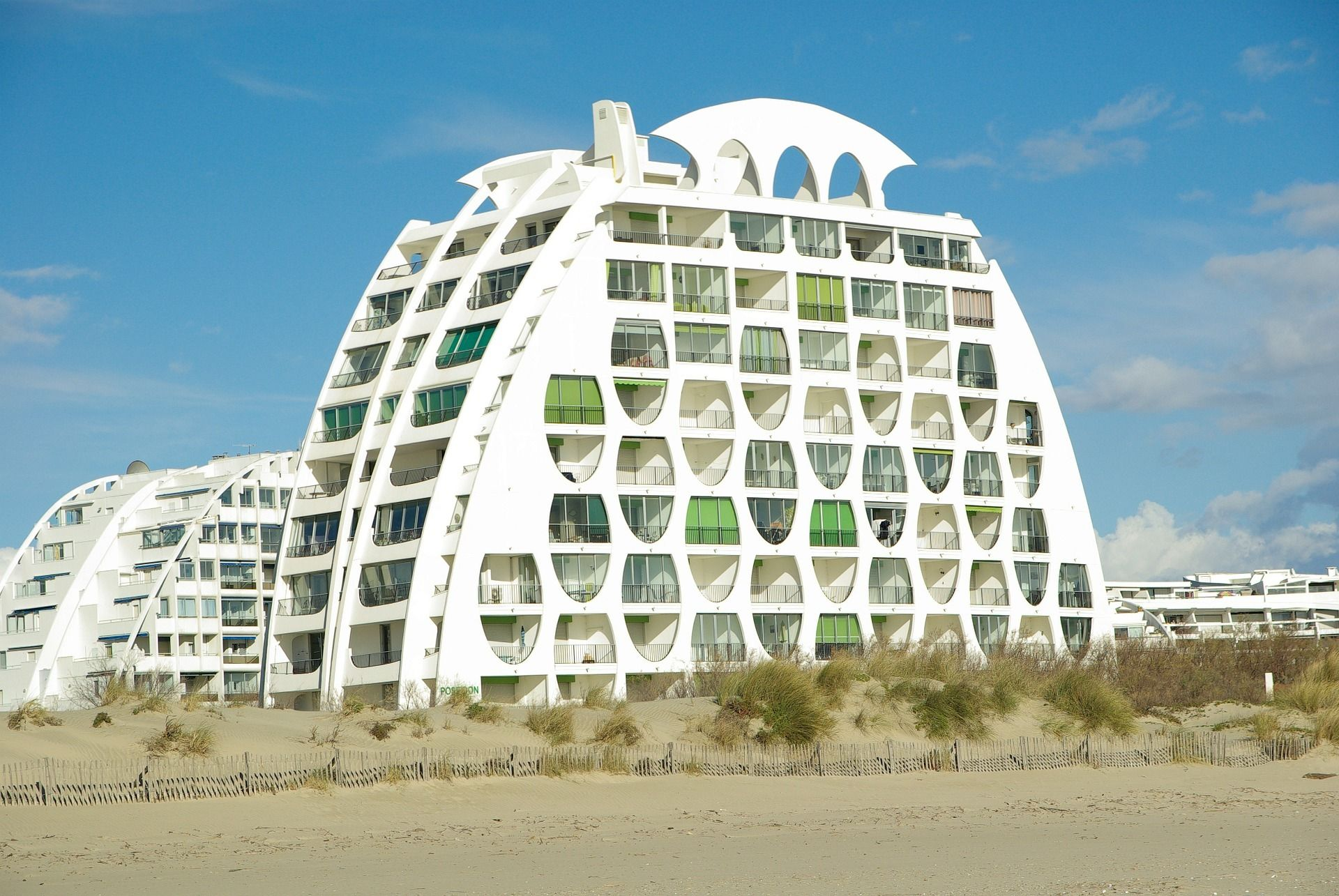 Image 5 Of 16 From Gallery Of When Architecture And Tourism Meet La Grande Motte S Pyramids By The Seaside Pu La Grande Motte Beautiful Buildings Montpellier