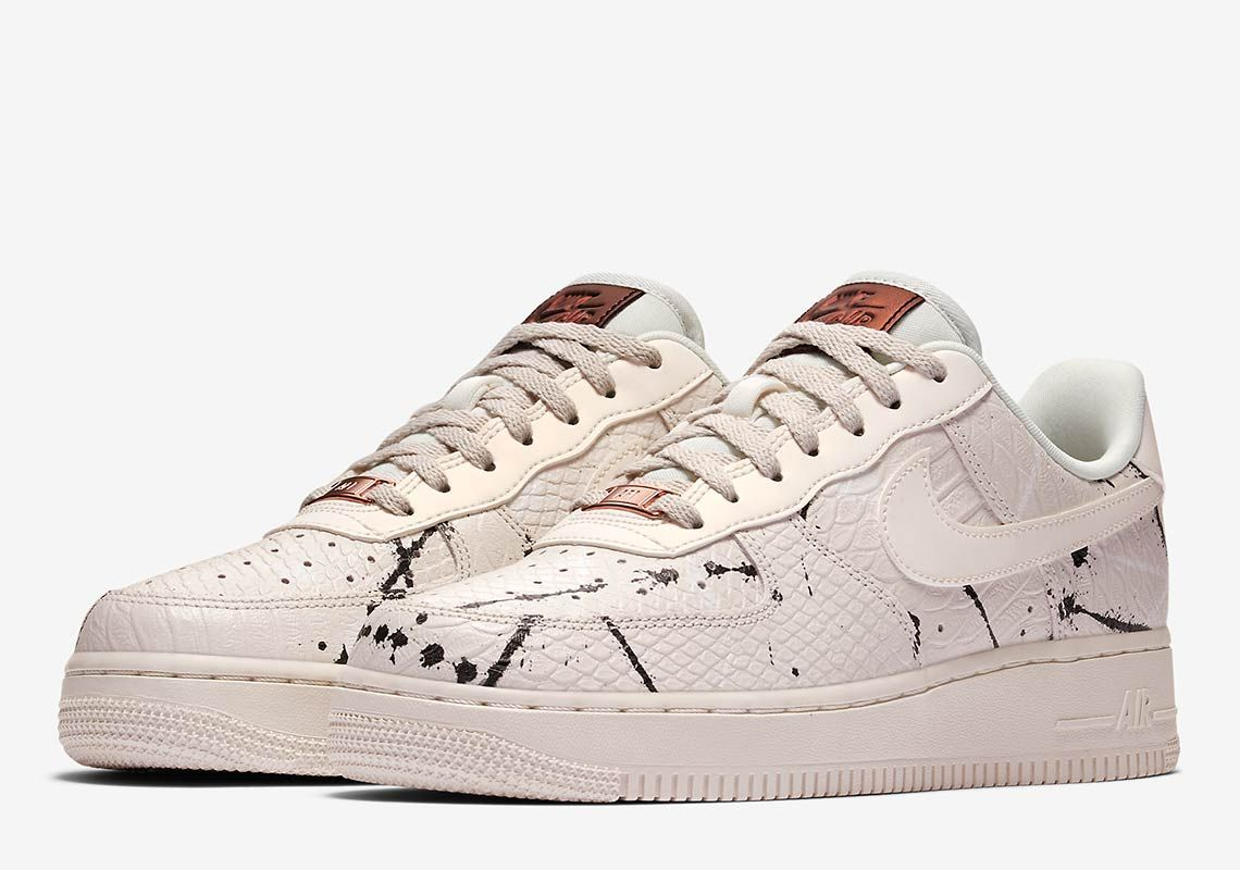 Nike Gets Premium With The Air Force 1 Low Phantom Snakeskin