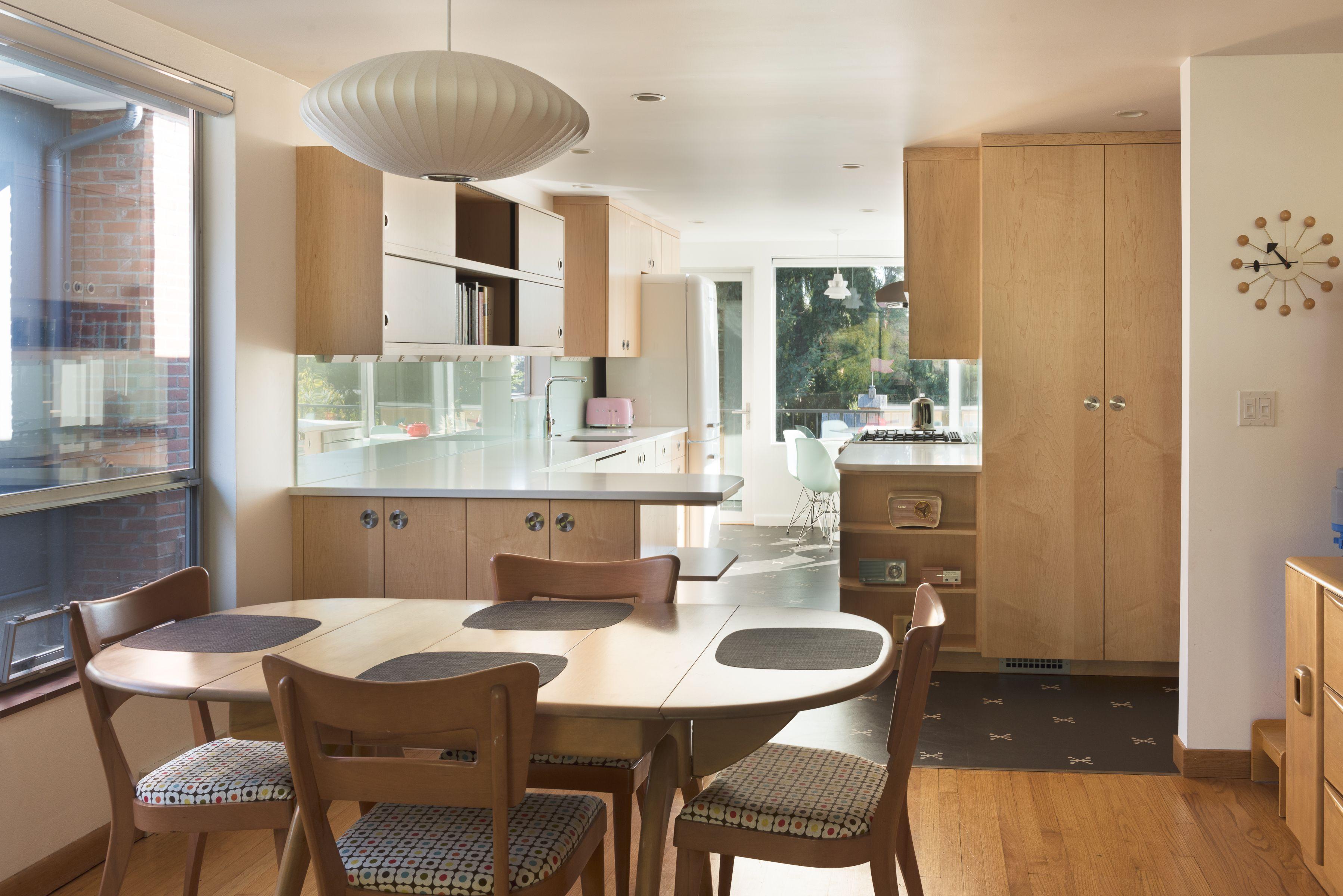 Midcentury modern kitchen by gl studio