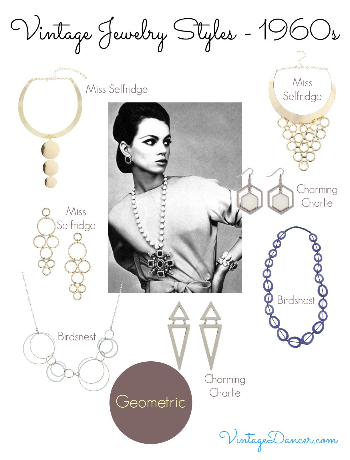 1960s Jewelry Styles And Trends To Wear 1960s Jewelry Jewelry Style Guide Jewelry Photography Styling