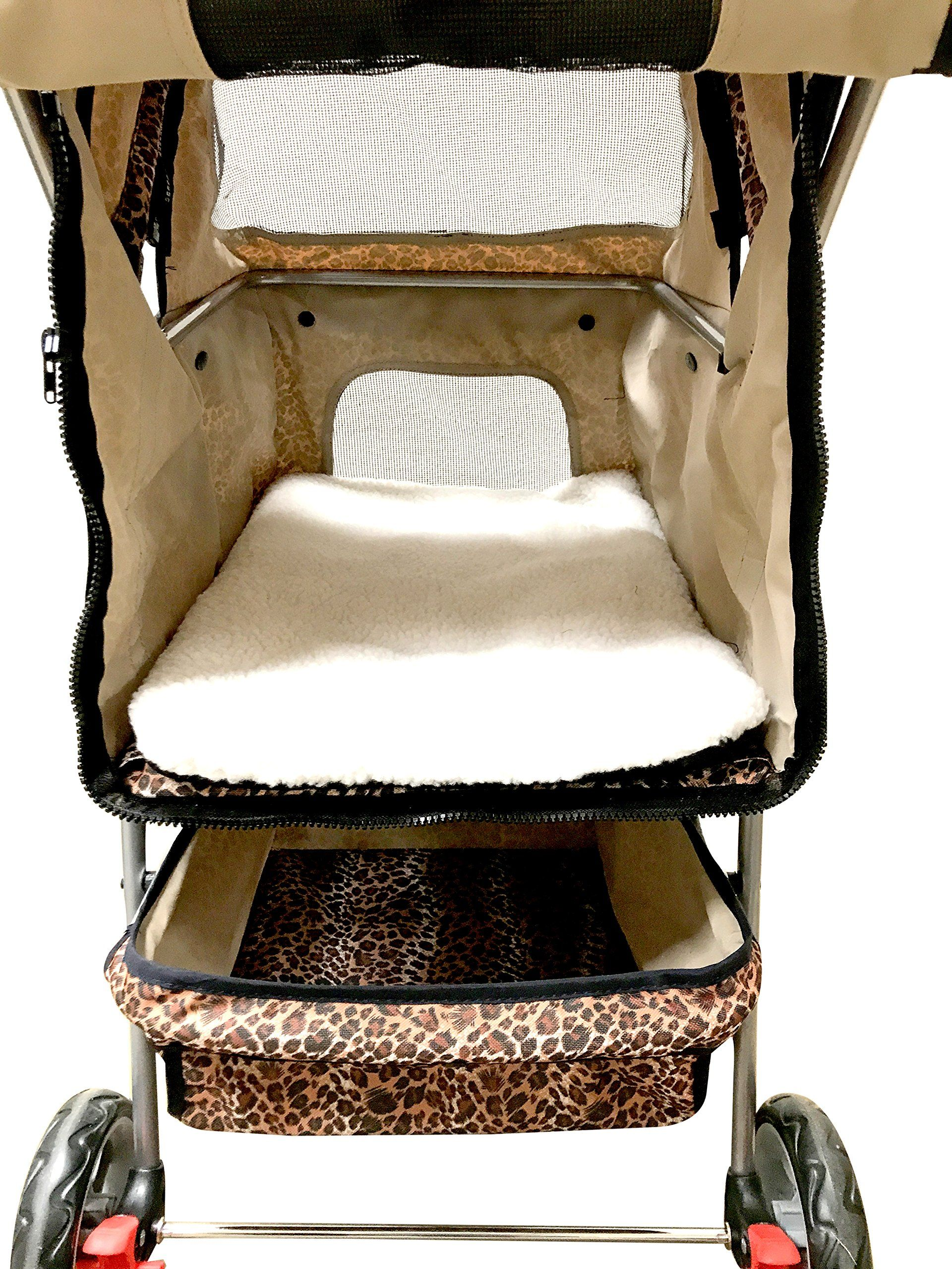 Premium Quality 3Wheel Pet Carrier Stroller For Cat and