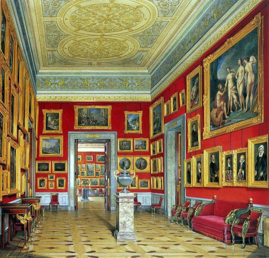 Интерьер музеев в картинках