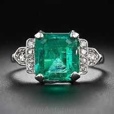 http://rubies.work/0991-emerald-pin-brooch/ Image result for antique emerald ring