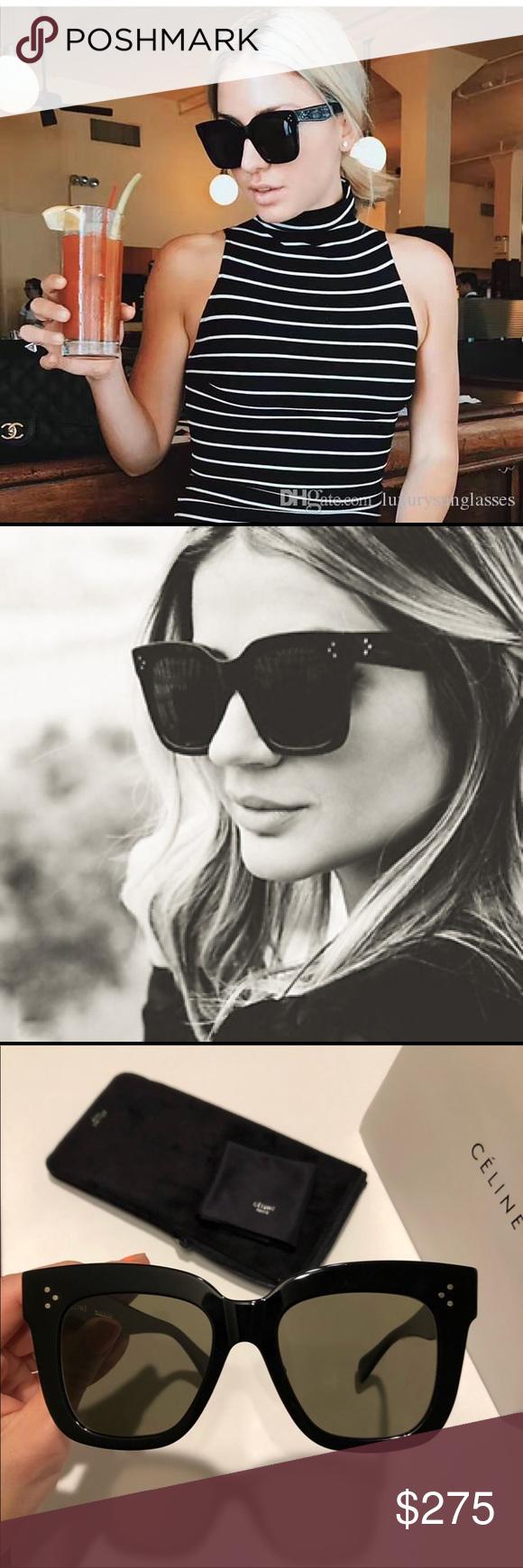 3fcb0f2b218 Celine Kim sunglasses Celine 41444 s Kim Black grey sunglasses New  condition. 100% authentic Includes Celine case and Celine cloth. Celine  Accessories ...