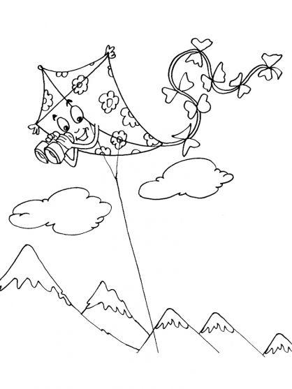 Coloriage cerf volant chinois colorier dessin imprimer coloriages pinterest cerf - Coloriage de cerf ...