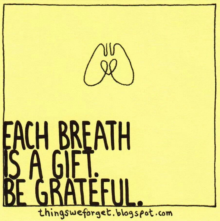 be greatful